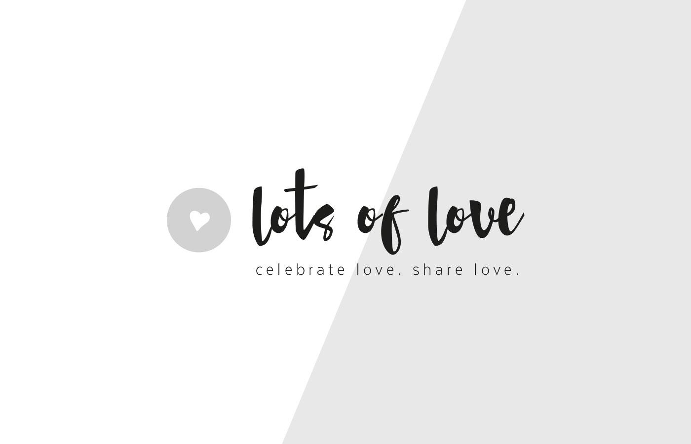 logo lots of love