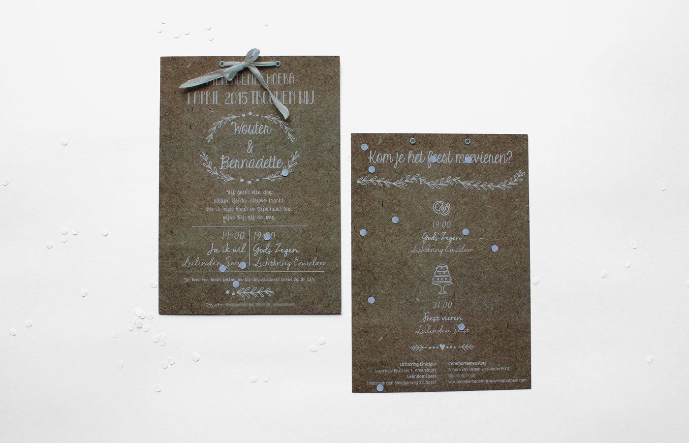 trouwkaart W&B_voor