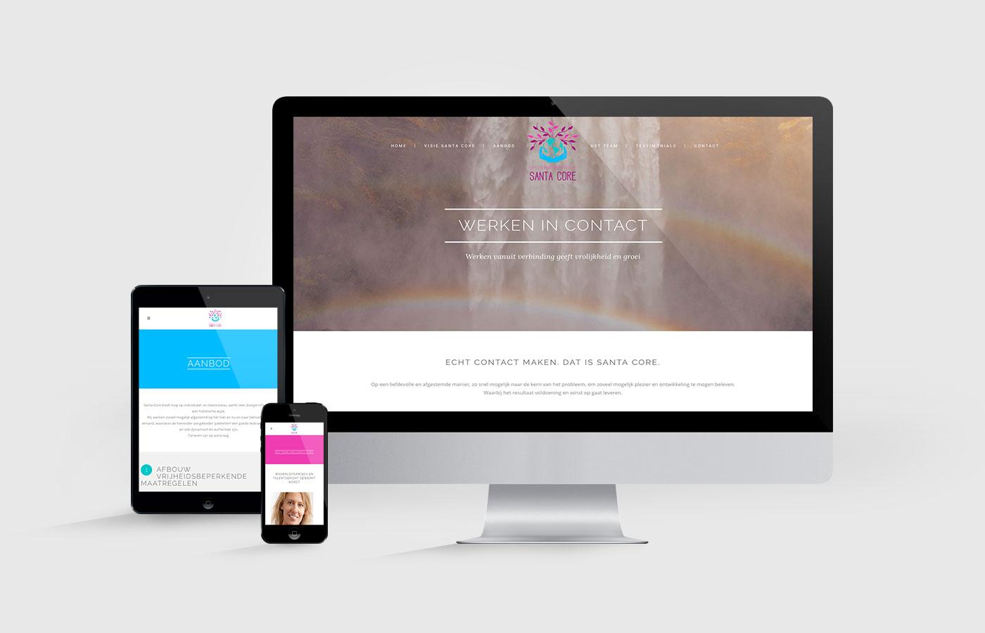 website santa core